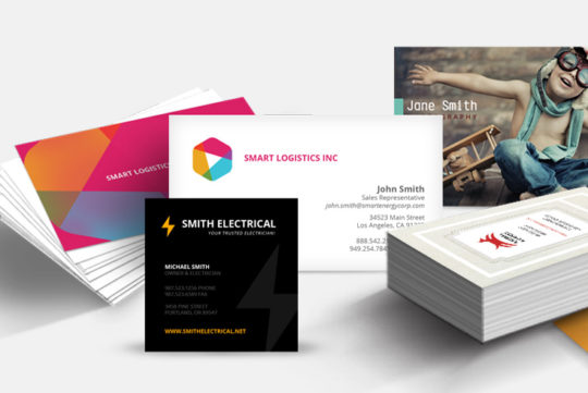 Graphic Design Business cards, brochures and flyers