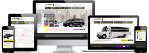 Vegas Limousine Service Website Redesign