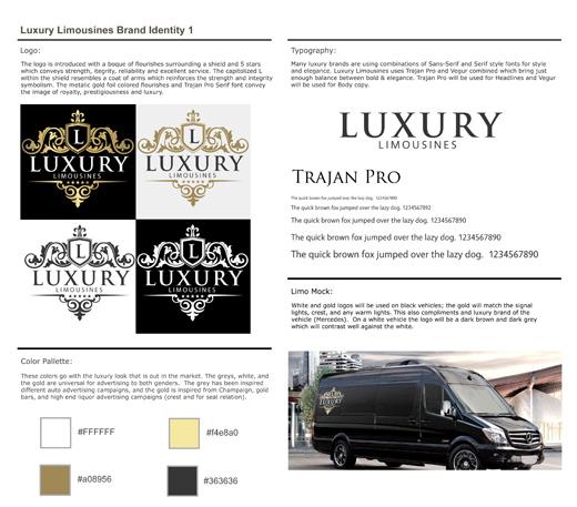 Luxury Limousines Corporate Branding & Logo Design