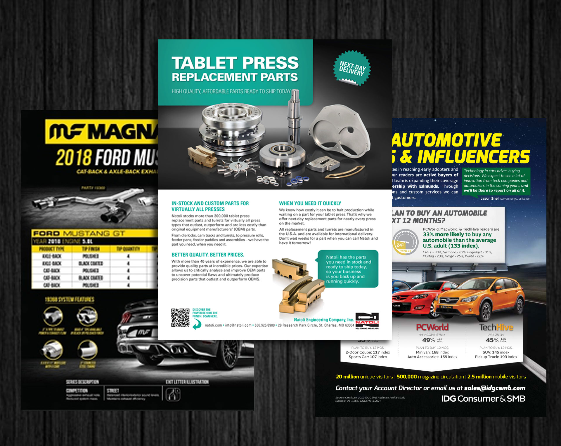 Sales Brochures and Sell Sheets