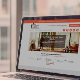 House of Window Coverings Website Redesign