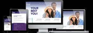 LUX Dermatologies WordPress Website design on-devices
