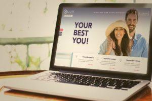 LUX Dermatologies WordPress Website design thumbs