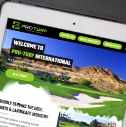 Pro Turf International Custom Wordpress Website main-image