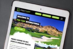 Pro Turf International Custom WordPress Website main-image