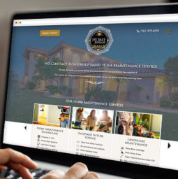 Trajan HomeServices Wordpress Website thumbnail